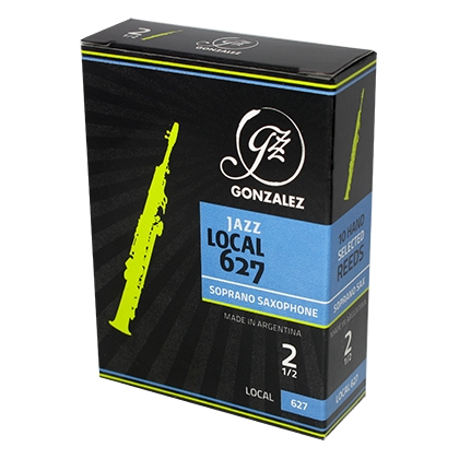 Gonzalez Local 627 JAZZ for Sopransaxofon